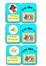 English Worksheets: ANIMALS - I�m the... (1/7)
