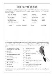 Monty Python - Dead Parrot Sketch