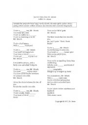 English Worksheet: You�re a mean one Mr Grinch