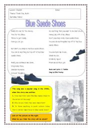 English Worksheets: Thank You, Ma�m by Langston Hughes