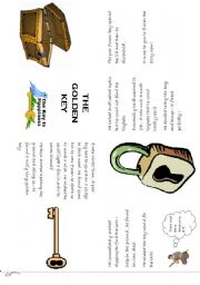 English Worksheets: the golden key minibook