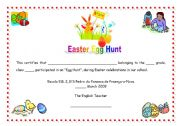 english teaching worksheets easter eggs