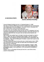J.K. Rowling - A success story
