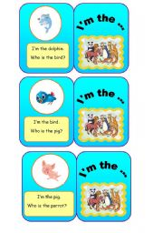 English Worksheets: ANIMALS - I�m the... (4/7)