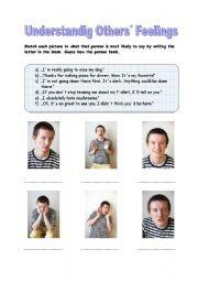 worksheet: Understanding Others´ Feelings