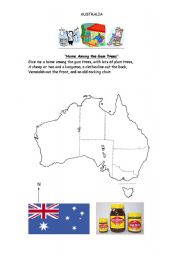 Australian Icons Worksheet - ESL worksheet by gregq
