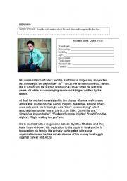 esl worksheets for adults reading personal information. Black Bedroom Furniture Sets. Home Design Ideas
