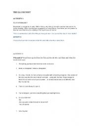 English Worksheets: the ilusionist movie