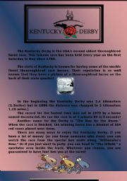 English Worksheets: Kentucky Derby