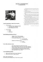 English Worksheets: Takeaways