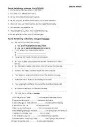 English Worksheets: so&because