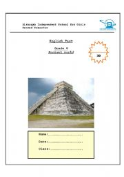 English Worksheets: ancient worlds