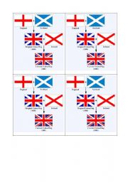 English Worksheet: Union jack creation