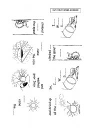 English worksheet: INCY WINCY SPIDER MINBOOK