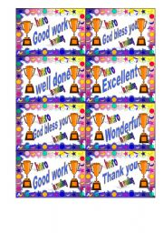 English Worksheets: Greetings cards