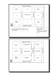 English worksheet: Directions in the city