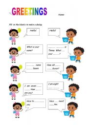 English worksheets greetings worksheets page 38 greetings m4hsunfo