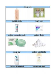 everyday household objects part 1 (bodycare)