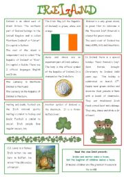 ENGLISH-SPEAKING COUNTRY (6) - IRELAND