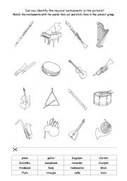 Instrument Family Worksheets Free Worksheets Library | Download ...