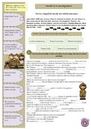 English Worksheet: Murder in a country house