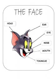 English Worksheets: TOM�S face