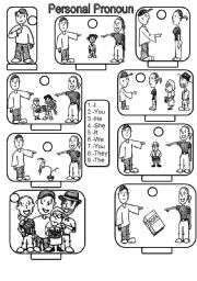 personal pronouns coloring pages - photo#5