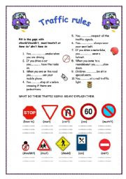 Printables Traffic Signs Worksheets road signs worksheet davezan templates and worksheets