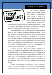 Racism roots in America