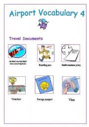 English Worksheet: AIRPORT vocabulary 4