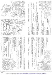 The Rainbow Fish worksheets