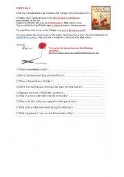 English Worksheets: Poppy day - remembrance day