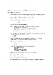 A Christmas Carol Stave 1 Summary.Christmas Carols Worksheets