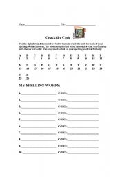 Cracking the Code Worksheet http://www.eslprintables.com/printable.asp?id=321357