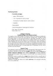 English Worksheets: TOEFL READING