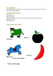 English Worksheets: Strange Animals