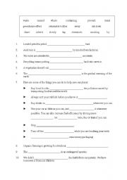 worksheet ecology vocabulary worksheet hunterhq free printables worksheets for students. Black Bedroom Furniture Sets. Home Design Ideas