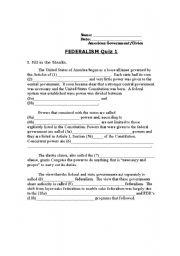 30 Icivics Federalism Worksheet Answers - Free Worksheet ...