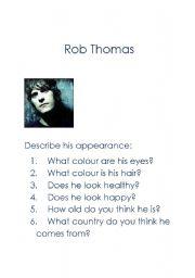 English Worksheets: Describing appearance