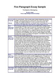 Five Paragraph Essay: Full Guide With Examples |