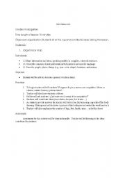 English Worksheets: Mini lesson