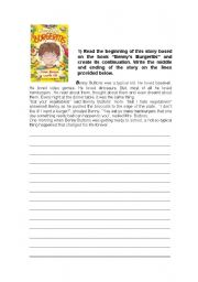 English Worksheets: written production - sequencing