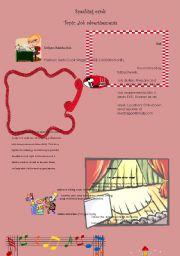 English Worksheet: Speaking cards:Job advertisements
