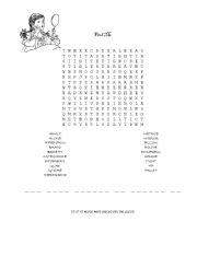 English Worksheets: find the message