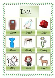 picture dictionary D (1-2 )