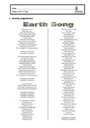 English Worksheets: Let�s go green