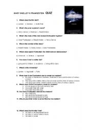 English Worksheets: Worksheet on the movie of