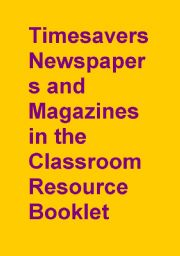 English Worksheet: Timesavers Newspapers and Magazine Resource Booklet