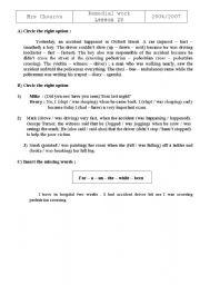 English Worksheets: tasks