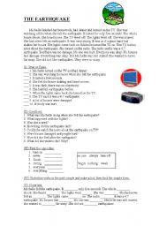 Printables Earthquake Worksheet earthquake worksheets davezan english teaching earthquakes